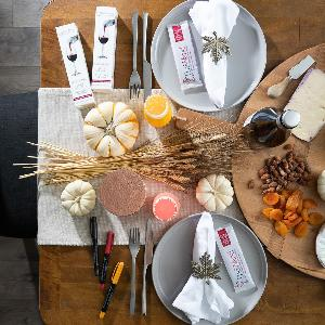 Enter to win $450 in Prizes for your Thanksgiving Table!