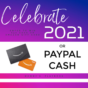 Enter to win $50 PayPal Cash or an Amazon Gift Card!