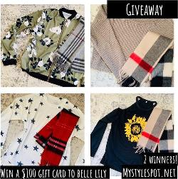 Enter to Win a $100 Fashion Shopping Gift Card to BelleLily – 2 WINNERS!