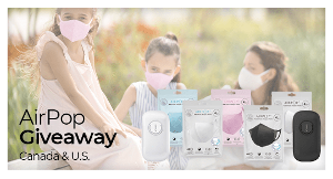 Enter to Win a $165 AirPop Prize Pack