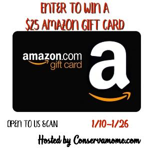 Enter to #Win a $25 Amazon Gift Card !