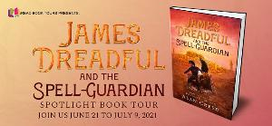 Enter to win a $25 Amazon Gift Card courtesy of Alan Creed, author of JAMES DREADFUL AND THE SPELL GUARDIAN (one winner)