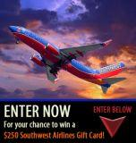 Enter to win a $250 Southwest Airlines Gift Card!