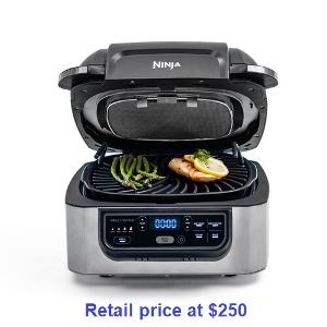 ENTER TO WIN A 5-IN-1 NINJA INDOOR GRILL!