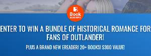 ENTER TO WIN A BUNDLE OF HISTORICAL ROMANCE FOR FANS OF OUTLANDER! PLUS A BRAND NEW EREADER! 20+ BOOKS! $300 VALUE!