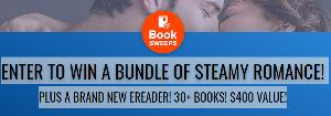 ENTER TO WIN A BUNDLE OF STEAMY ROMANCE! PLUS A BRAND NEW EREADER! 30+ BOOKS! $400 VALUE!