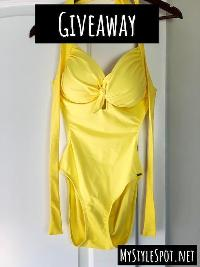 Enter to Win a Chic One-Piece Swimsuit!