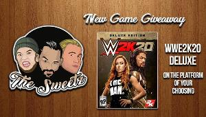 Enter to win a digital copy of WWE 2K20 Deluxe edition on the platform of your choice.
