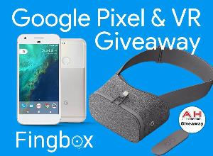 Enter to Win a Google Pixel Android Smartphone and Daydream View VR Headset