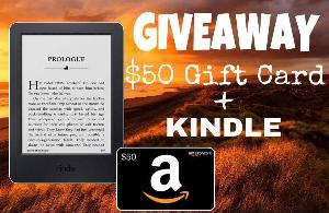 Enter to win a Kindle + $50 Amazon GiftCard!
