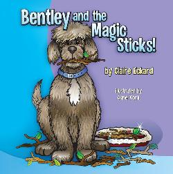 Enter to win a signed copy of BENTLEY AND THE MAGIC STICKS! (one winner/USA only)