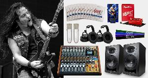 Enter to Win a TASCAM Model 12 Mixer & Tommy Bolan Bundle!!