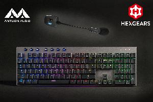 Enter to win an Antlion Wireless ModMic &   The upcoming Hexgears Venture Low-Profile Bluetooth Mechanical Keyboard!
