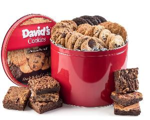 Enter To Win David's Cookies & Brownie Family Pack