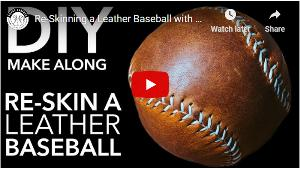 Enter to win one of two hand-stitched Horween leather Baseballs from Popov Leather!