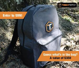Enter to WIN what's in the ToughTested Bag