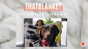 """Enter to win your own custom Premium Sherpa Photo Blanket (50x60"""") from That Blanket! (value $89.00)!"""