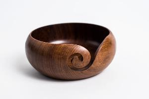 Exquisite Wooden Yarn Bowl Giveaway
