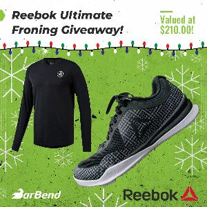da205383f08 Contest      Win Reebok Froning Shoes + Activechill Long-sleeve Tee!