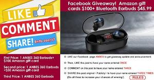 Facebook giveaway, like share comment and win