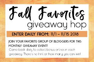 Fall Favorites #Giveaway Hop!