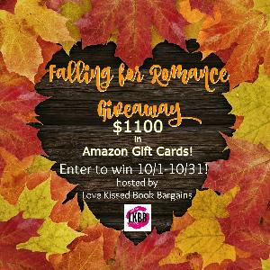 Falling for Romance Giveaway $1100!
