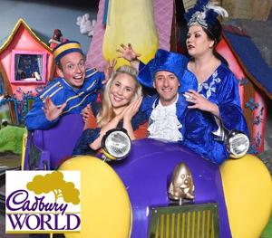 Family pass to Cadbury World this Christmas!