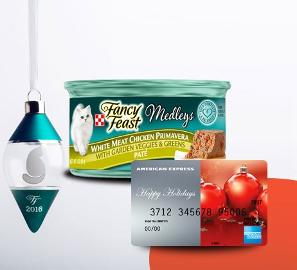 Fancy Feast Holiday Prize Package Giveaway!