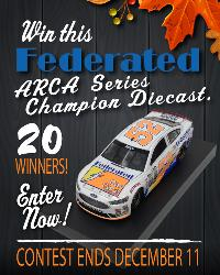 Federated 2017 ARCA Series Champion Diecast