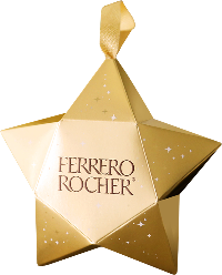 FERRERO ROCHER® Decorative Star Ornament
