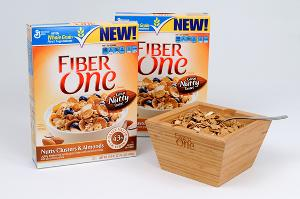 Fiber One Nutty Clusters & Almonds Cereal Prize Pack