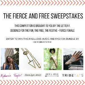 Fierce and Free Sweepstakes