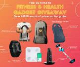 FITNESS AND HEALTH GADGETS $1,200