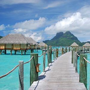 Flights to Bora Bora + Charity Donation!