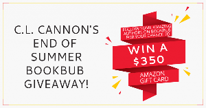 Follow some amazing authors on BookBub for a chance to win a $350 Amazon Gift Card!