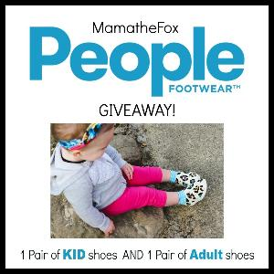 Footwear Kids and Adult Shoes Giveaway!