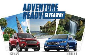 Ford Adventure Ready Giveaway