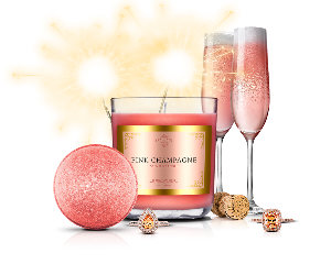 Fragrant Jewels Candle & Bath Bomb Gift Set ($39.95)