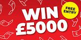 Free Competition: Win £5,000 Tax Free Cash!