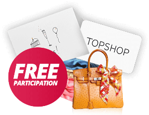 free gift card to go to TopShop