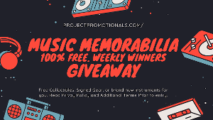 Free Music Mystery Box - Project Promotionals