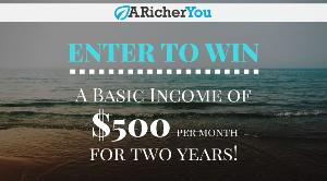 Free Paycheck: $500/Month for Two Years ($12,000 Total