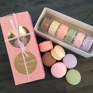 French macarons soaps