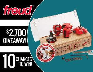 FREUD TOOLS ROUTER BIT SET