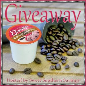 Friendly's Black Cherry Chocolate Chunk Ice Cream Flavored Coffee Giveaway
