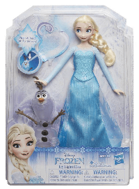 Frozen Icy Lights Elsa Doll