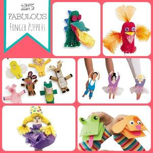 Fun Finger Puppets and Jumbo Stickers Prize Pack Giveaway