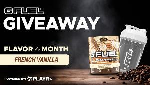 G FUEL wants to send 5 LUCKY winners their very own tub and shaker of February's Flavor of the Month!
