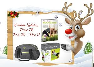 Gaiam Fitness Holiday Prize Pk Giveaway