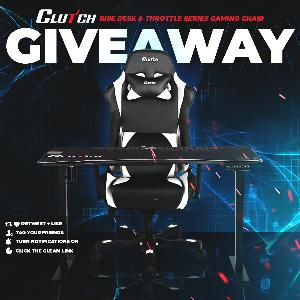 Gaming Desk + Chair